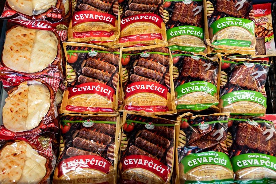 Produkte und Lebensmittel aus dem Balkan
