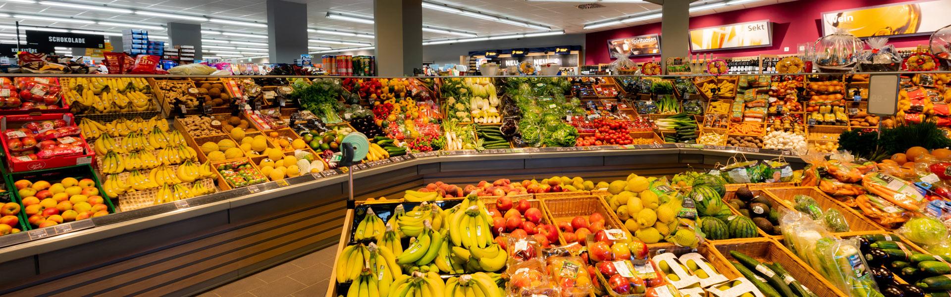 Obst und Gemüse im EDEKA Jusić